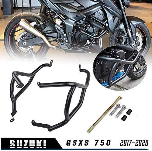 XX ecommerce Moto Piantana Artificiale Gabbia Motore Absturz Bar Autostrada Bars cappuccio cornice per protezione paraurti per 2017-2018 S uzuki GSX-S GSXS 750