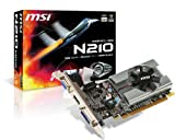 MSI N210-MD1G/D3 GeForce 210 Graphic Card - 589 MHz Core - 1 GB GDDR3 SDRAM - PCI Express 2.0 x16 - Low-profile - 1000 MHz Memory Clock - 2560 x 1600 - DirectX 10.1, OpenGL 3.1 - HDMI - DVI - VGA - N210-MD1G/D3