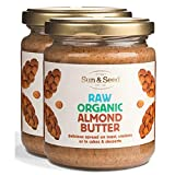 Sun and Seed – Organic Raw Almond Butter – Gluten Free and Keto Friendly –...