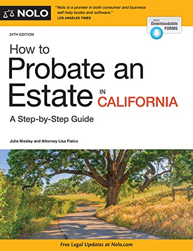 Download How to Probate an Estate in California 1413324886