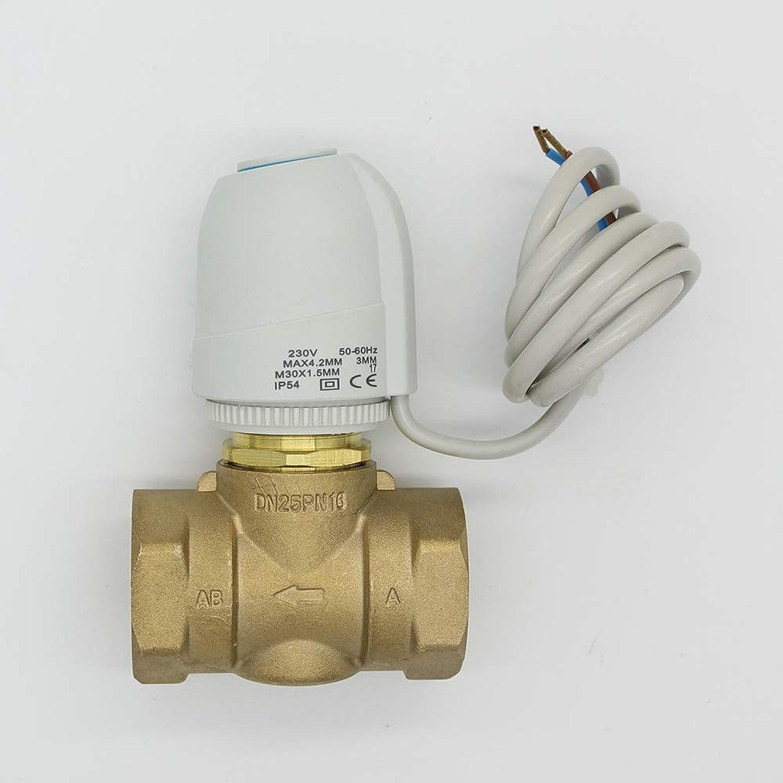230V 24V Normally Open Normally Close Electric Thermal Actuator for Room Temperature Control Brass Valve DN20DN25  (color  24V NC DN20)