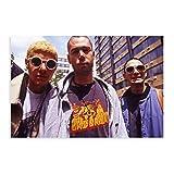 Band-Beastie Boys, Leinwand-Poster, Wandkunst, Dekor, Bild,