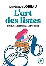L'art des listes de Dominique Loreau