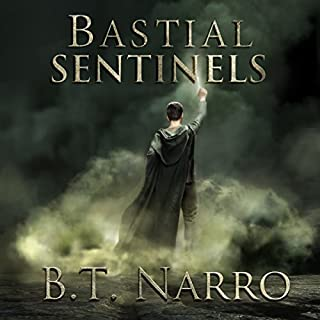 Bastial Sentinels     The Rhythm of Rivalry, Book 5              Written by:                                                                                                                                 B.T. Narro                               Narrated by:                                                                                                                                 Brad C. Wilcox                      Length: 13 hrs and 58 mins     1 rating     Overall 1.0