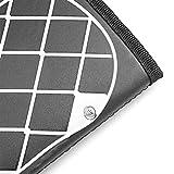 Ankep EMS Fußmassagegerät, Klappbare Fußmatte Einstellbar 6 Vibrationsmodi 10 Frequenz, Pad Füße Muskelstimulator Fußmassagematte Verbessern die Durchblutung, Schmerzlinderung - 6