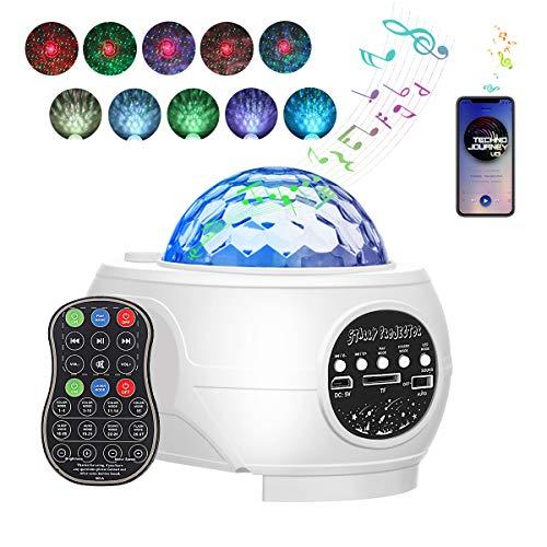 LED Sternenhimmel Projektor, GLIME Planetarium Projektor mit Fernbedienung, Starry Projector Light Handy Gesteuert Kann, Bliss Light Sky Light für Erwachsenen mit Timer