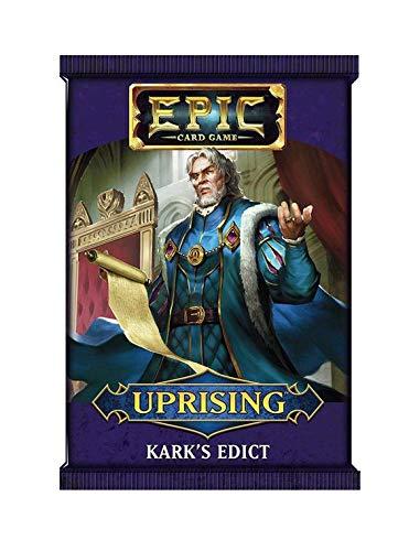 Devir Epic Expansion insurreccion: sobre El Edicto de Kark - sobre de Cartas en Castellano