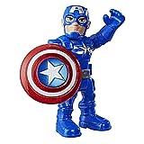 Super Hero Adventures Playskool Heroes Mega Mini Captain America Figure