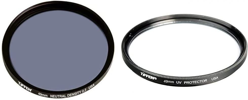 Tiffen 49mm Neutral Density 0.3 Protectio Our shop Popularity most popular UV 49UVP Filter