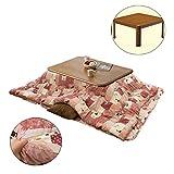 Kaffeetische Winter Futon Heiztisch Kotatsu Square Tatami Tisch Wohnzimmer Heizung