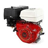 Ranzix - Motor de gasolina de 4 tiempos de 9 kW y 15 CV (25 mm de diámetro del eje, protección...