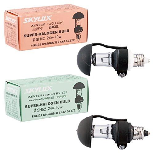 電球 SH60(24V-60W) 電球(照明灯用) ヘッドライト 双眼ルーペ