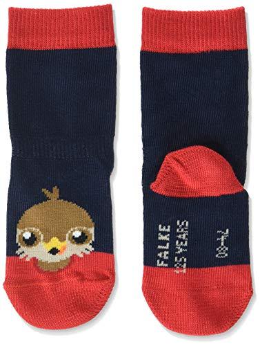 FALKE Unisex Baby Falcon B SO Socken, blau (Marine 6120), 1-6 Monate (62-68cm)