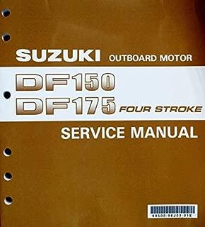 Suzuki Outboard (99500-96J03-01E) Genuine OEM Service Manual 4-Stroke 150-175 hp. 2006 thru 2010
