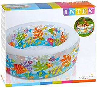 Intex 58480 Inflatable Aquarium Swimming Pool For Kids
