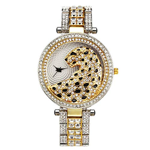 J.Memi'W Hip Hop Reloj Oro Iced out Mujer Pulsera Diseño De Diamantes...