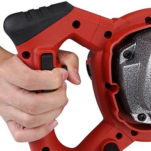 Mezclador Eléctrico De 6 Velocidades Handheld De 1500W para Agitar Al Mortero Cemento De Cemento Cemento AC 220V - 1pcs Rojo