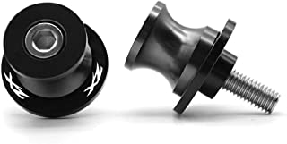 2pcs Diabolos M8*1.5 CNC AluminioBrazos Oscilantes Tornillos del Soporte para Kawasaki ZX6R 2013 2014 2015 2016 ZX10R 2013 2014 2015 2016-Titanio