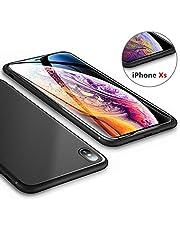 iPhone6s ケース/iPhone6ケース【CaseFamily】アイフォン6sケース 黒 スリム・薄型ケース ソフト TPU おしゃれ 人気 ストラップホール付き 指紋防止 アイホン6耐衝撃ケース ブラック