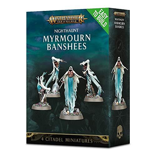 Age Of Sigmar Warhammer Easy to Build: Nighthaunt Myrmourn Banshees