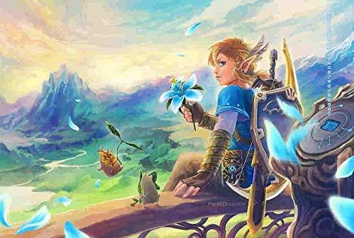 EDZXC-Animación de la Leyenda de Zelda,Puzzle para Adultos 1000 Piezas,Puzzle Juguetes para Adultos...