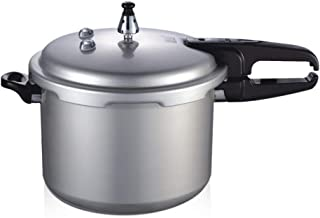 Pressure Cookers Aluminum Alloy Pressure Cooker Composite Pot Bottom Household Gas Induction Cooker 1-7 People Stainless Steel Pressure Cooker (Size : 7L)