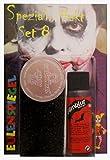 Búho Espejo especial efecto Juego 8Halloween maquillaje