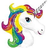 Lovelegis Globo Unicornio - Arcoiris - Multicolor - 103 x 75 cm - cumpleaños - Fiesta - Decoraciones - Aniversario - Cosplay - Decoraciones