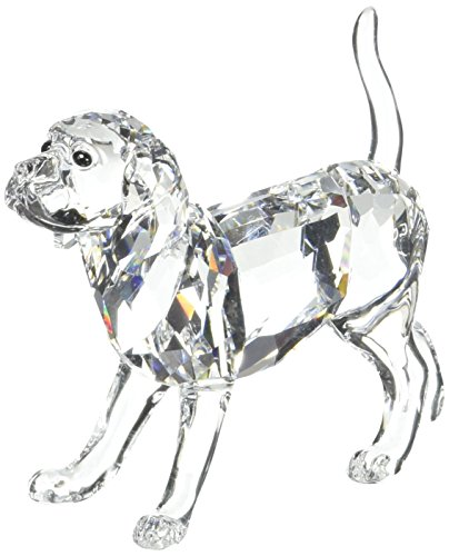 Swarovski Beagle Figur, Glas, transparent, 5.7x7x2.6 cm