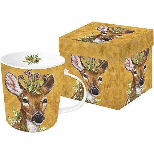 Paperproducts Design 603012 - Taza en caja de regalo con diseño de princesa del bosque por el artista Vicki Sawyer, papel, multicolor