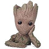 AMrjzr Guardians of The Galaxy 2 Flower Pot Tree Man Baby Groot Groot Pen Holder BB Doll Modelo Toy ...
