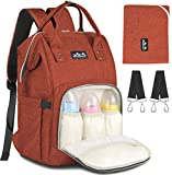 Baby Changing Bag, Viedouce Baby Diaper Bag Nappy Backpack, Maternity Bags with 1