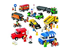 LEGO Education Vehicles Set Trucks Motorcycles & Cars