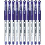 Uni-Ball Signo DX UM 151 Gel Ink Pen 10 Set (Blue)