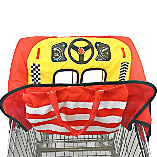 Review Extra padded, Shopping Cart Cover and High Chair Cover for baby,Provides Protection, Great Qu...