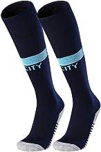 Chinashow Unisex Soccer Athletic High Tube Socks Baseball Football Basketball Sport Athletic Socks Blue (Manchester City)