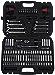 AmazonBasics Mechanic Socket Tool Kit Set With Case - Set of 145 (Renewed)