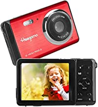 HD Kids Digital Camera with 2.8 Inch TFT LCD Screen 8X Digital Zoom Rechargeable Compact Camera,Lightweight Point and Shoot Camera Pocket Cameras for Kids,Beginner,Student,Teens