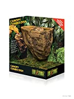 2-in-1 water and feeding dish Natural rock design integrates in desert and tropical terrariums Can be installed at any desired height Designed for easy storage Designed to be easy to use