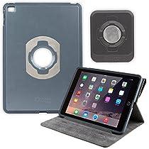 OtterBox Agility Portfolio Bundle with Wall Mount for Apple iPad Air 2, Black Leather (78-50458) [並行輸入品]