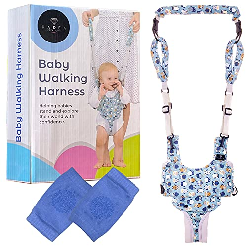 Baby Walking Harness - Easy-Wearing Baby Harness for Walking - Walk & Stand Baby Walker Harness - Comfy Padded Baby Walking Assistant - Walking Harness for Toddlers
