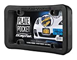 BumpTEK Plate Pocket (Extreme Edition) - The Thickest, Toughest, All Rubber Front Bumper Guard, Front Bumper Protection, License Plate Frame. Flexible Rubber Cushions Parking Bumps!