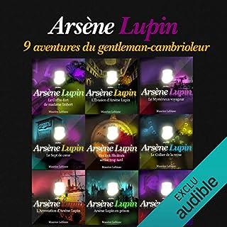 Couverture de 9 aventures d'Arsène Lupin (Arsène Lupin)