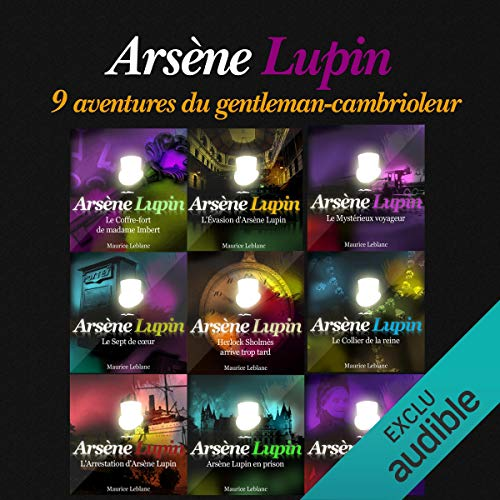 9 aventures d'Arsène Lupin (Arsène Lupin) audiobook cover art