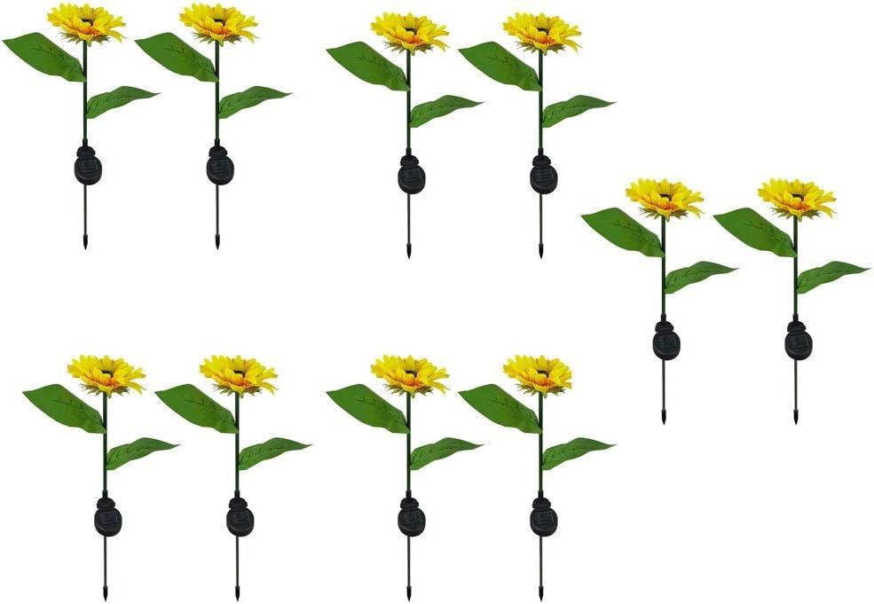 Purchase ZHJ Christmas Decoration Led Large-scale sale Solar Sunflower Lantern