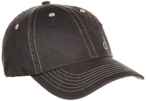 Calvin Klein Golf Twill-Baseballkappe grau anthrazit NA