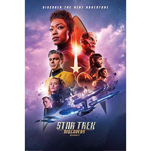 Star Trek Discovery - Season 2 Poster Mehrfarbig