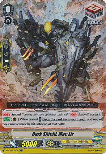Cardfight!! Vanguard - Dark Shield, Mac Lir - V-BT02/015EN - RR - V Booster Set 02: Strongest! Team AL4