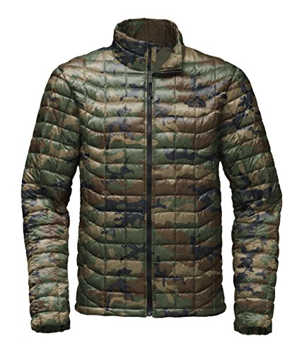 The North Face Men's Thermoball Jacket - Terrarium Green Woodland Camo Print - M