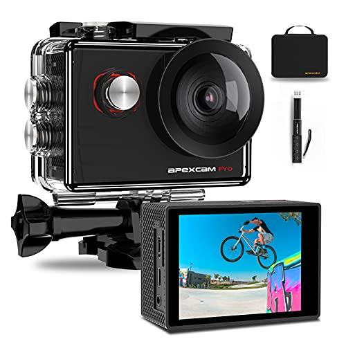 Apexcam Pro Action Cam 4K 20MP...